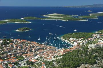 Excursion en bateau à l'île de Hvar et l'archipel de Pakleni, en...