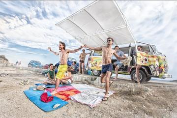 Tour delle migliori spiagge di Spalato con Beach Bus d'epoca