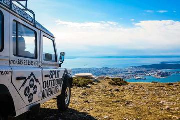 Tour di safari montano in Jeep con pranzo da Spalato