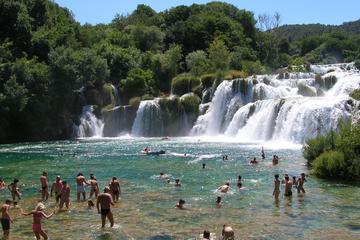 Tour privato alle cascate di Krka da Spalato