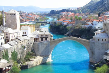 Mostar Day Tour with Tabačica Mosque from Dubrovnik