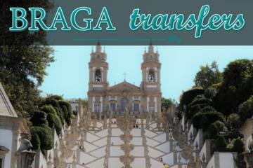 Transfer para o aeroporto de e para Braga (Private, All Inclusive)
