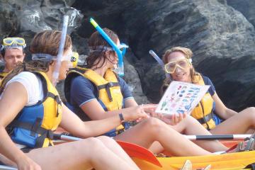 Kayak and Snorkel in Llanca