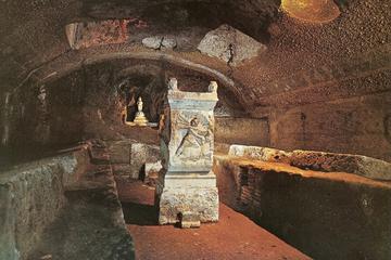 Excursão para grupos pequenos: excursão de meio dia pela Roma cristã...