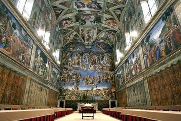 Excursión privada: Museos Vaticanos y...