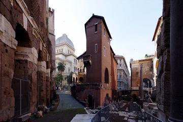 Tour a piedi nel cuore dell'Antica Roma e del ghetto