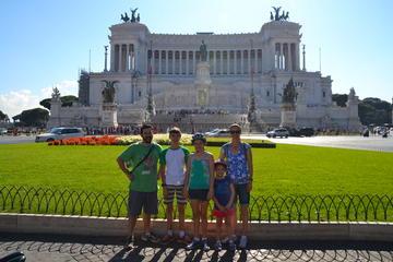 Excursion à vélo dans le centre-ville classique de Rome
