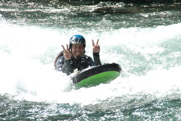 Riverboarding on the River Sjoa