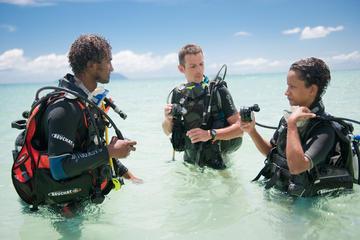 Cours de plongée aux Seychelles