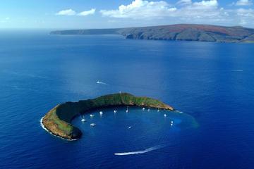 Aventura de buceo de superficie en Molokini