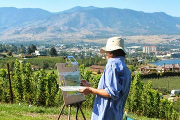 Painting Class Experience at Okanagan Vineyard with Optional Lunch...