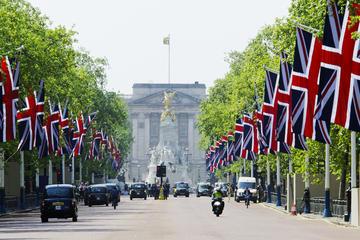 Visita a pie de Londres con cambio de guardia y té de la tarde...