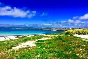 Connemara und die Küste von Galway Bay mit Connemara National Park...