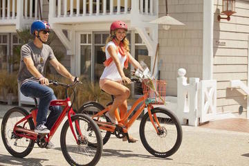 La Jolla Half Day Electric Beach Cruiser Rental