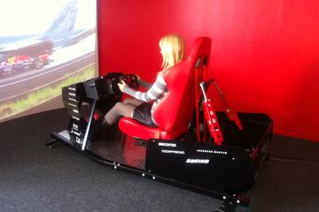 Day Trip Formula 1 Race Car Simulator Experience near Clearwater, Florida
