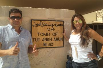 8 Hour Tour to Nefertari's Tomb King Tut's Tomb Valley of the Kings Queen Hatshepsut Temple and Karnak Temples