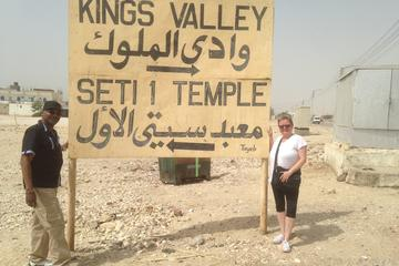 Day Tour to Tomb of Seti I Valley of the Kings Tomb of King Tut and Hatshepsut Temple