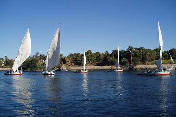 Luxor West Bank Private Full-Day Tour with Felucca Nile Cruise