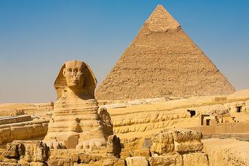 Private Day Tour to Giza Pyramids Sphinx and Egyptian Museum in from Giza