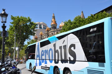 Aerobus Official Shuttle Barcelona Airport To City Center