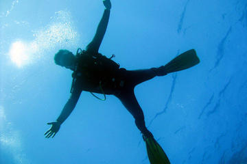 Introdução mergulhar no mar