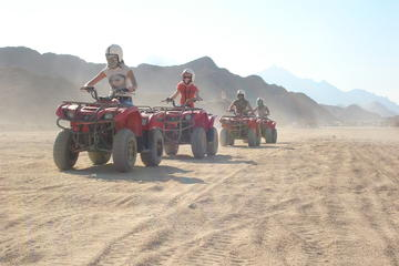Morning Quad Bike Desert Safari in Marsa Alam