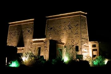 Private Sound and Light Show from Aswan at Philae Temple
