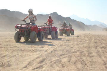 Quad Biking in the Egyptian Desert from Hurghada with Sunset and Show