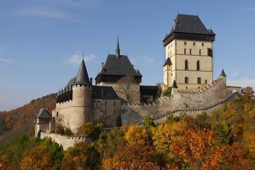 Visite privée: excursion d'une demi-journée au château de Karlstejn...