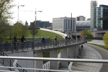 Fahrradtour durch Berlin im Winter in...