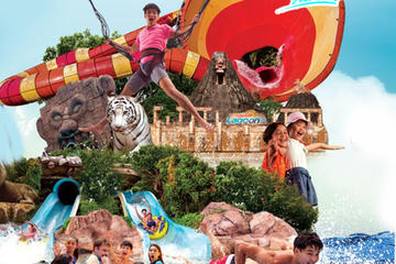 Sunway Lagoon Theme 6 Park ticket with return transfer from KL
