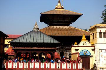 パシュパティナート寺院とボダナート仏舎利塔を巡るプライベート半日ツアー