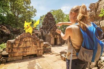 Excursão a pé de Pokémon GO exclusiva...