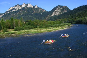 Rafting the Dunajec River Gorge in Southern Poland