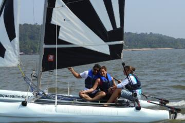 Beach Sailing Bambolim Goa