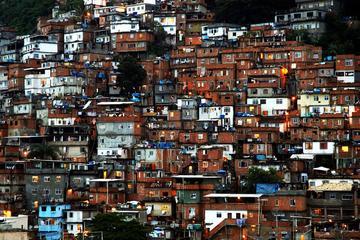 Favela da Rocinha no Rio de Janeiro