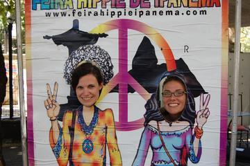 Feria hippy en Río de Janeiro