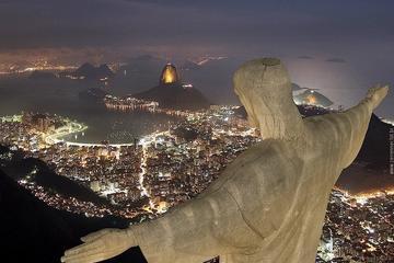 Rundtur till två av Rios största sevärdheter: kristusstatyn Cristo ...
