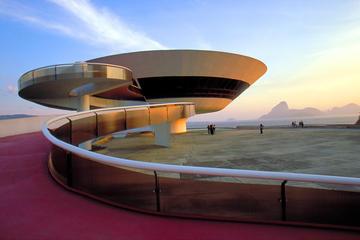 Stadtbesichtigung Niterói Eintritt in Museum für zeitgenössische Kunst