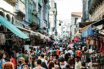 Tour del quartiere dello shopping Saara a Rio de Janeiro