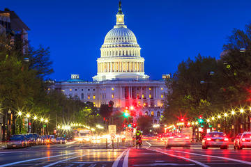 Washington D.C. bei Nacht