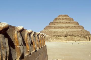 Full Day Pyramids-Memphis and Sakkara plus Cairo by night for FREE