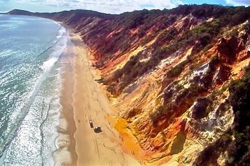 Great Beach Drive: 4WD-tour tussen Noosa en Rainbow Beach