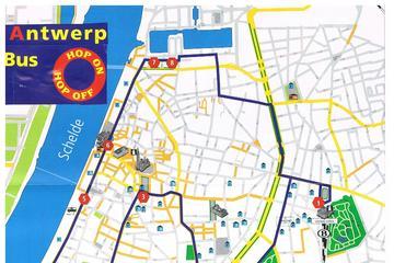 1 uur Antwerpen Citytour Bus