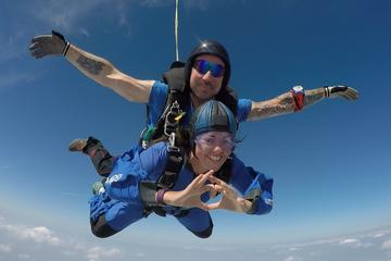 Tandem Skydive near Stonehenge from...