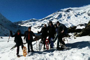 Aventura de senderismo con raquetas de nieve en Cajón del Maipo desde...