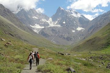 Caminata por el glaciar en el Monumento Natural El Morado desde...