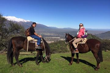 Passeio a cavalo nos Andes saindo de Santiago