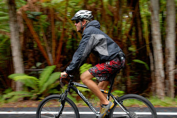 Kilauea Volcano and Lava Combo Bike Tour