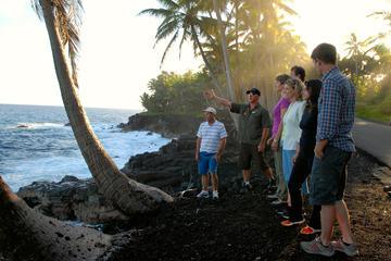 Promenade au volcan Kilauea et lave au coucher du soleil